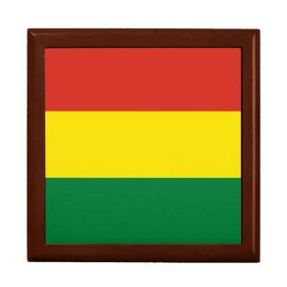 Bolivia Flag Trinket Boxes