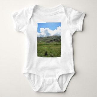 bolivia landscape baby bodysuit