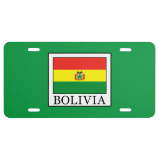 Bolivia License Plate