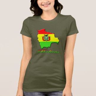 Bolivia Map T Shirt