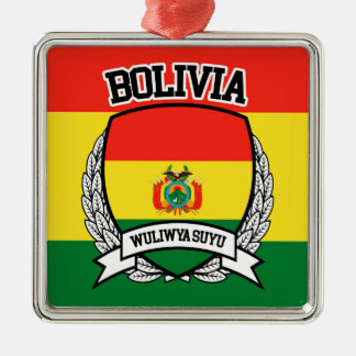 Bolivia Metal Ornament