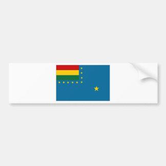 Bolivia Naval Ensign Flag Bumper Sticker