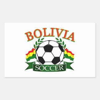Bolivia soccer ball designs sticker