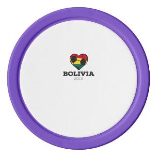 Bolivia Soccer Shirt 2016 Poker Chip Set
