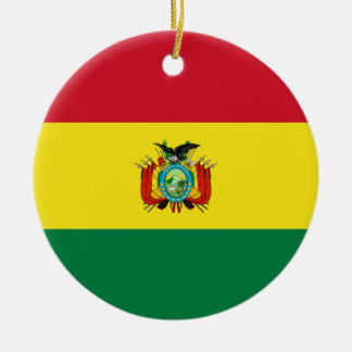 Bolivia State Flag Ornament