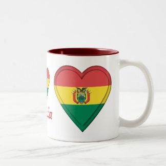 Bolivia Two-Tone Coffee Mug