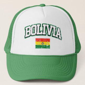 Bolivia Vintage Flag Trucker Hat