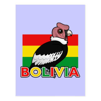 Bolivian Andean Condor Postcard
