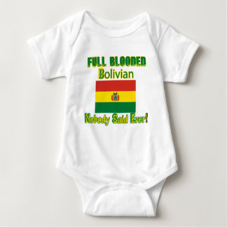 Bolivian citizen design baby bodysuit