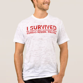 Bolivian Death Road Survivors Tee