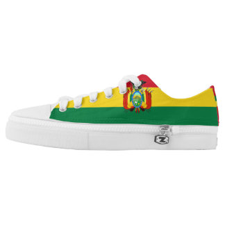Bolivian Flag Low-Top Sneakers