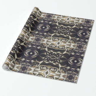 Bolivian Flower Embossing Art Wrapping Paper