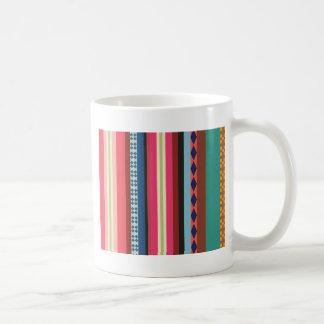 Bolivian pattern coffee mug