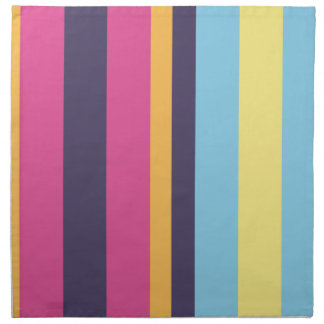 Bolivian stripes printed napkin