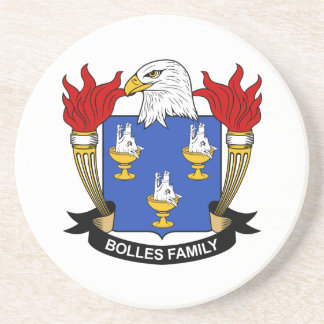 Bolles Family Crest Coaster
