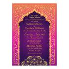 Bollywood Arabian Nights Wedding Invitation