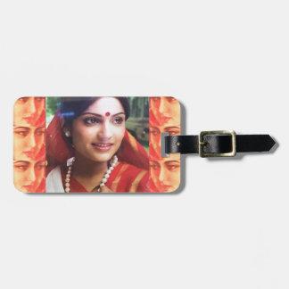 Bollywood diva actress Indian beauty cinema girls Bag Tag