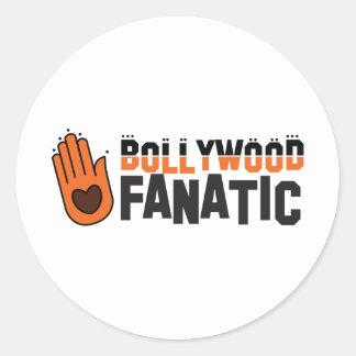 Bollywood fantatic round stickers