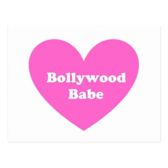 Bollywood Girl Postcard