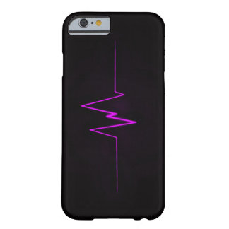 BOLO Purple Lightning Logo Barely There iPhone 6 Case