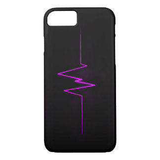 BOLO Purple Lightning Logo iPhone 8/7 Case