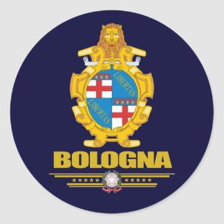 Bologna Classic Round Sticker