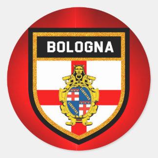 Bologna Flag Classic Round Sticker