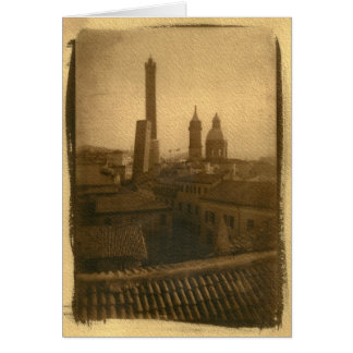 Bologna Rooftops Notecards Card