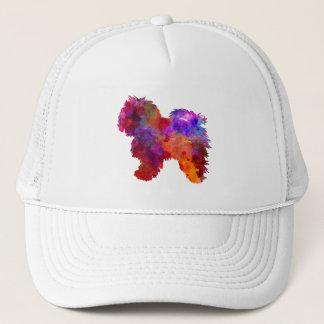 Bolognese in watercolor trucker hat