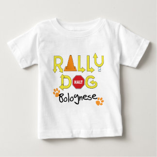 Bolognese Rally Dog Baby T-Shirt