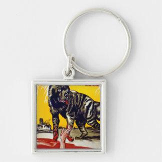 Bolschewismus Heisst Silver-Colored Square Keychain