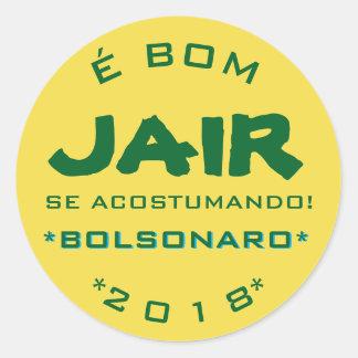 Bolsomito 2018 classic round sticker