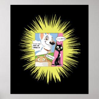 Bolt Disney Poster