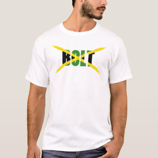 BOLT JAMAICAN FLAG T-SHIRT