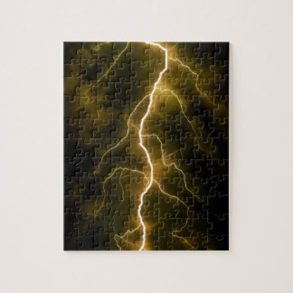 Bolt of Lightening Jigsaw Puzzle
