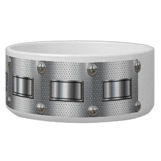 Bolted and Strapped Pet Food Bowl