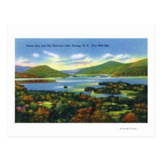 Bolton Bay, Narrows, Five Mile Mountains View Postcard