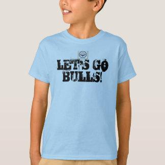 "bolton bulls ""Lets go Bulls"" T-Shirt"