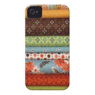 Bolts of fabric, pretty cotton designs iPhone 4 Case-Mate cases
