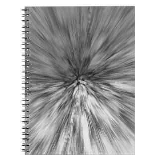bomb #4 spiral notebook