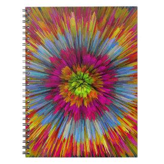 bomb #5 spiral notebook