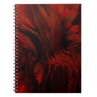bomb #6 spiral notebook