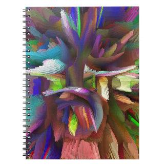 bomb #8 spiral notebook