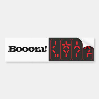 Bomb Bumper Sticker