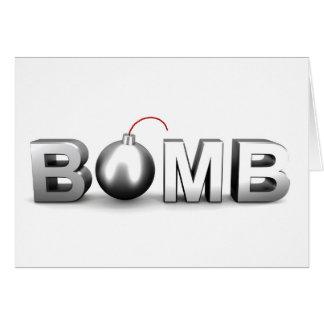 Bomb Card