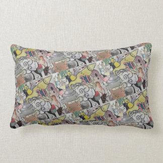 Bomb Comic Pillow