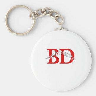 Bomb Diggity (Old School) Keychain