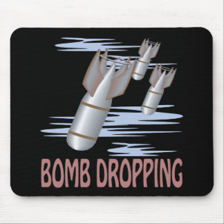 Bomb Dropping Mouse Pad