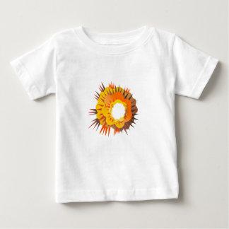 Bomb Explosion Retro Baby T-Shirt