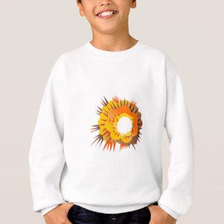 Bomb Explosion Retro Sweatshirt
